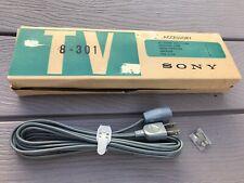 Original Vintage Sony Cord For Micro TV 8-301 In Original Box