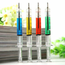 4Pcs Liquid Syringe Injection Ballpoint Pen Nurse Injection Writing Ballpen Gift