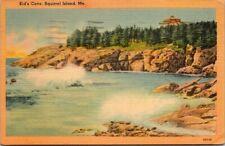 Postcard Kinds Cave Squirrel Island Me