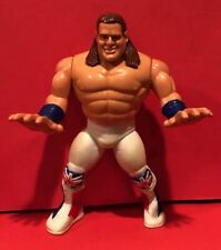 Vtg Wwe Wwf Hasbro Wrestling Series 4 British Bulldog Davey Boy Smith complete