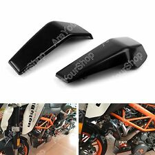 Black Radiator Covers For KTM Duke 125 200 390