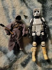 Star Wars Black Series Archive Scout Trooper and Offworld Jawa Lot Complete