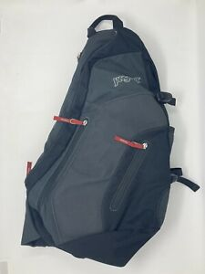 Jansport Airlift Padded Sling 1 Strap Black Backpack Bag Crossbody Messenger