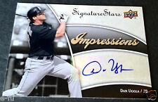2009 UD Signature Stars Auto DAN UGGLA Certified Marlins Autograph #IMP-DU