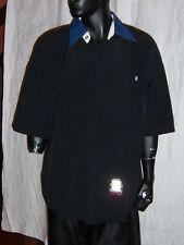 Sir Benni Miles New York Mens Black Casual Short Sleeve Shirt Size Large NEW