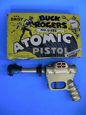 Vintage Daisy Buck Rogers Atomic Pistol Space Ray Gun With Original Box