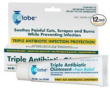 12 Tubes of Triple Antibiotic + Pain Relief Dual  (Compare to Neosporin) 1 OZ