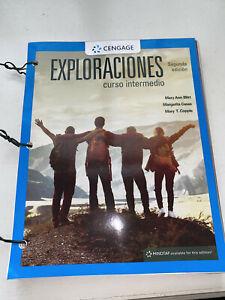 EXPLORACIONES CURSO INTEMEDIO 2ND SEGUNDA EDITION 9781337612548 LOOSE LEAF BOOK