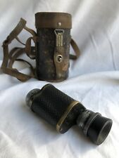 Antique Monocular & Original Case LUMINA PARIS 8X28 wwi