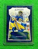 AARON DONALD PANINI BRAVERY GREEN CARD SP #/199 LOS ANGELES RAMS 2016 PANINI SP