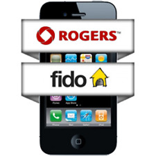 Factory unlock code LG-ELECTRONICS  rogers or fido canada network supported only