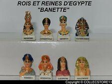 DVO522  SERIE COMPLETE DE FEVES  LES ROIS ET REINES D'EGYPTE