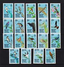 British Virgin Islands - 1985 Birds Definitives, MNH, cat. $ 60.00