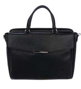 Tumi Andria Flap Briefcase Laptop Bag Unisex Black Authentic new