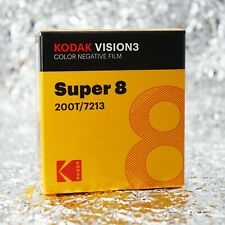 *NEW* Kodak Super8 200T / 7213 Vision3 Color Negative film