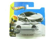 Hotwheels 12 Acura NSX Concept 158/250 Silver Short Card 1 64 Scale Sealed