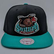 MITCHELL & NESS Vancouver Grizzlies NBA Upside Down Logo Hat Snapback Cap RARE