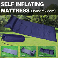 Self Inflating Mattress Airbed Camping Hiking Mat Sleeping Camp with Pillow Bag