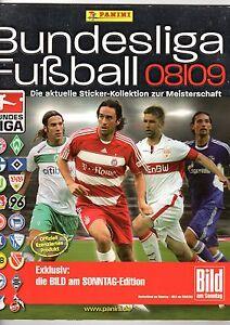 15 PaninI Sticker Bundesliga 2008/09 aus 125 aussuchen