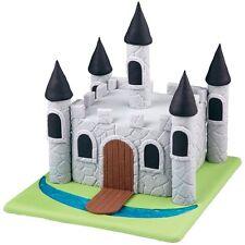 Wilton Fondant & Gum Paste Mold Texture Mat Set Stone Wood Designs Cake Accents