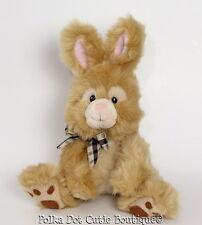 Russ Berrie Toffee Bunny Rabbit Stuffed Animal Plush Toy