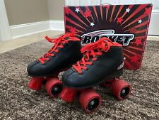 Rocket Kids Crazy Red/ Black Skates Boys Roller Skates / Kids Size 1