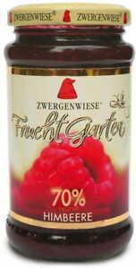 RASPBERRY MOUSSE (70% OF FRUIT) GLUTEN-FREE BIO 225 g - ZWERGENWIESE