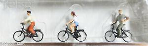 Preiser HO #10336 Sports & Recreation -- Cyclists (1:87th Scale)