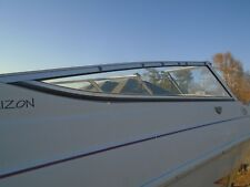 Four Winns 220 Horizon Starboard Side Section Windshield, THIS SINGLE PIECE ONLY