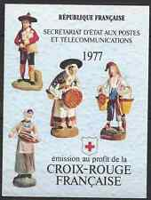 FRANCIA CARNET CRUZ ROJO RED LA CRUZ DEL 1977 Nº2026 NEUF LUXE MNH