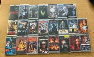 Lot of 23 Sony PSP UMD Movies, Still in Cases