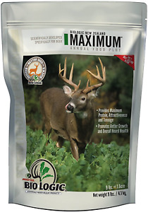 BioLogic New Zealand Maximum Annual Food Plot Seed Nutritious Antler Growth Safe