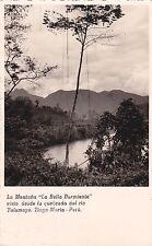 """PERU' - Tingo Maria - La Montana """"La Bella Dormiente"""" - Photo Postcard"""
