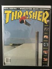 Dennis Busenitz Real June 2000 Thrasher Skateboard Magazine