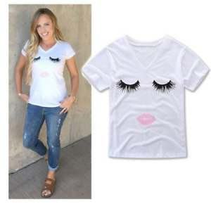 Mutter Tochter Wimpern tshirt mama Tochter mother daughter lashes tshirt
