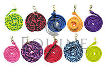 Horse Lead Rope. Trigger Clip. Made in England. Over 30 different colours!