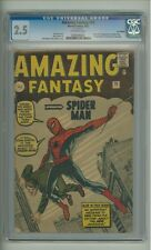Amazing Fantasy #15 CGC 2.5 Marvel 1962 1st Spider-Man! UK! F6 261 cm