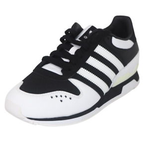 Adidas ZXZ123 J Originals Boys Running Shoes SZ 4 Leather Black White G08414