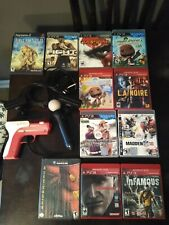Sony PlayStation Move Motion Controller PS3 eye camera gun and games