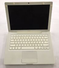 """Apple MacBook Core 2 Duo 2.0 13"""" White 2006 A11  MA700LL/A Works Bad Battery"""