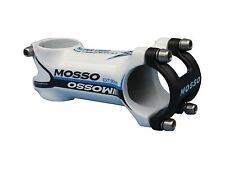 Mosso MTB Stem 90mm length White/Blue Biking Cycling