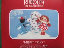Misfit Toys Figurine Dept 56 2011 rudolph misfit toys New