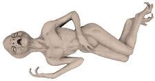 Life Size Alien Prop UFO FX Jordu Schell Realistic Latex Halloween Dead Martian