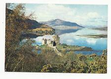 Scotland - Eilean Donan Castle, Loch Duich, Wester Ross - Vintage Postcard