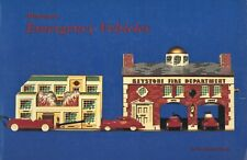 Miniature Toy Emergency Ambulances Police Cars Firetrucks Etc. / Book + Values