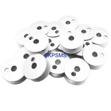 100PCS #B9117-563-000 Large Steel BOBBINS Compatible with JUKI LU 563 1508 1510 1560 1565 Singer 211U G Walking Foot and Double Needle Machines CKPSMS Brand