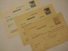 Tarjetas postales, papelería