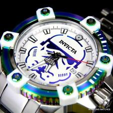 Invicta Star Wars Storm Trooper Octane 48mm Automatic Iridescent Steel Watch New