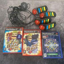 Buzz 4 Summer & Spielepaket Playstation 2 ps2 Musik Big Quiz Millionär Fun