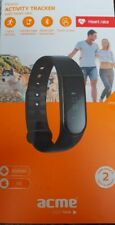 Acme Act0202 Activity Tracker Heart Rate Monitor Compatible With Android & iOS